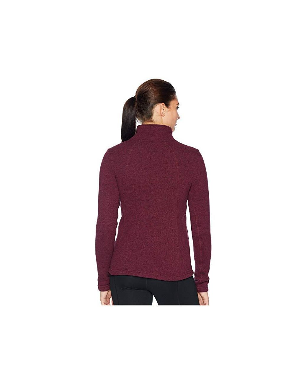 45b3dd477 The North Face Crescent Full Zip (fig Heather) Coat in Brown - Lyst
