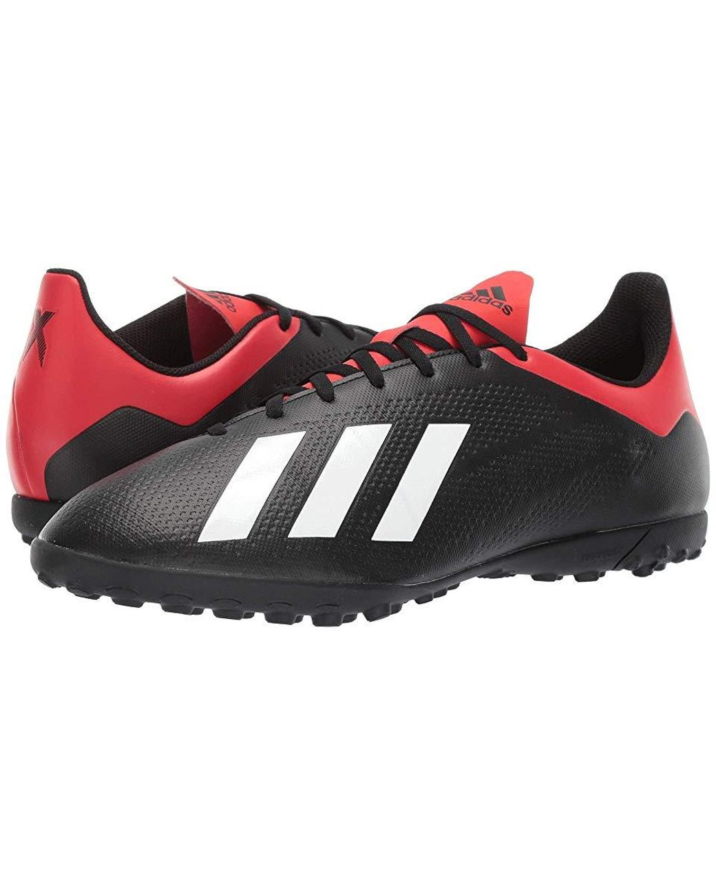 sneakers for cheap factory outlet big sale adidas X 18.4 Tf (core Black/off-white/active Red) Soccer ...