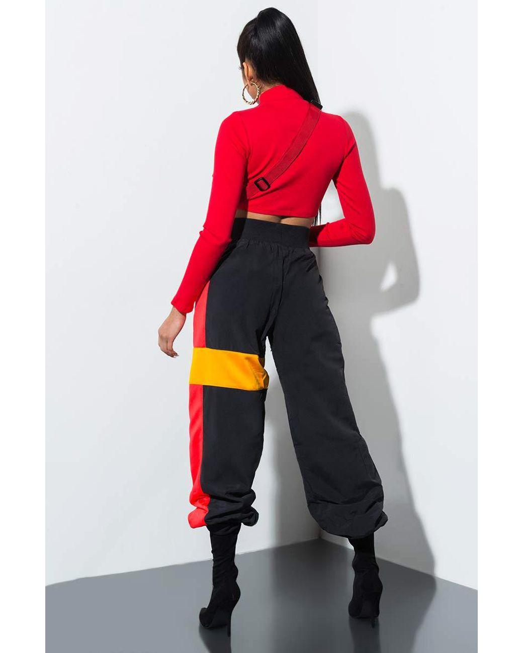 6ee6f344f4f9 Lyst - Reebok X Gigi Hadid Track Pants in Black