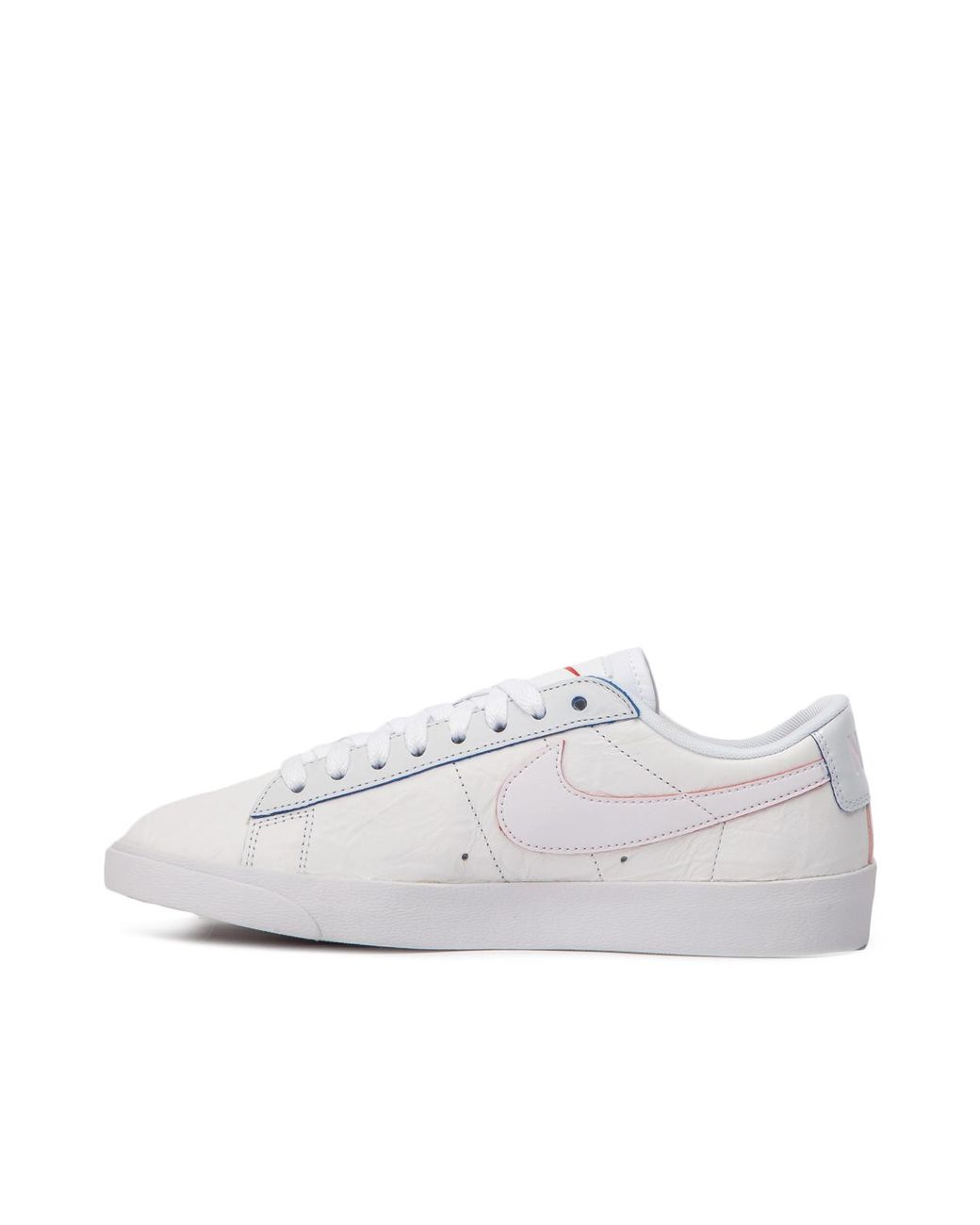 buy popular 8fff7 1492a Nike Nike Wmns Blazer Low Triple White in White for Men - Lyst