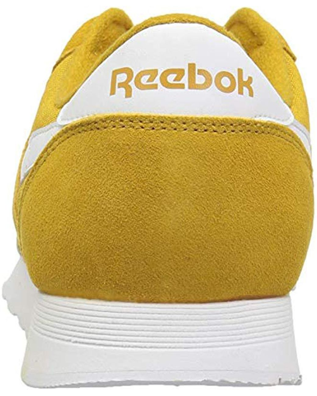 994f195b008ea Lyst - Reebok Classic Nylon Sneaker in Yellow for Men
