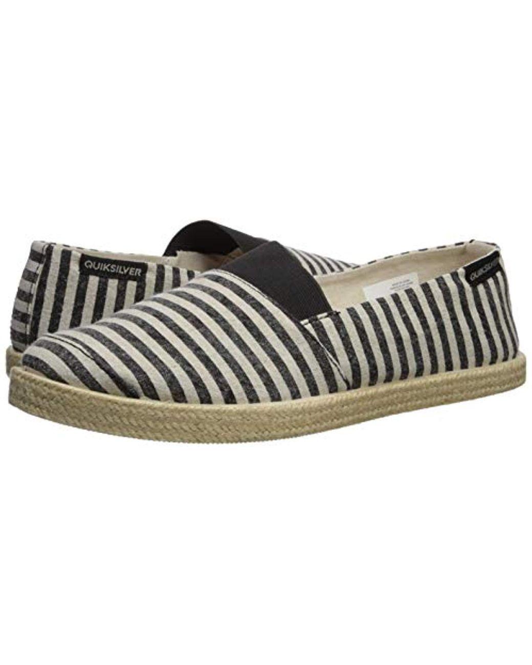 8ebb9e31f688c Quiksilver Espadrilled M Shoe Xkkc Men's Espadrilles / Casual Shoes In Black  in Black for Men - Save 3% - Lyst