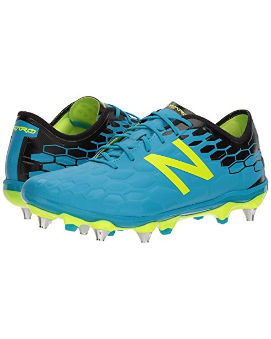 7bf21b43a6f2f New Balance Blue Visaro 2.0 Pro Sg Soccer Shoe for men