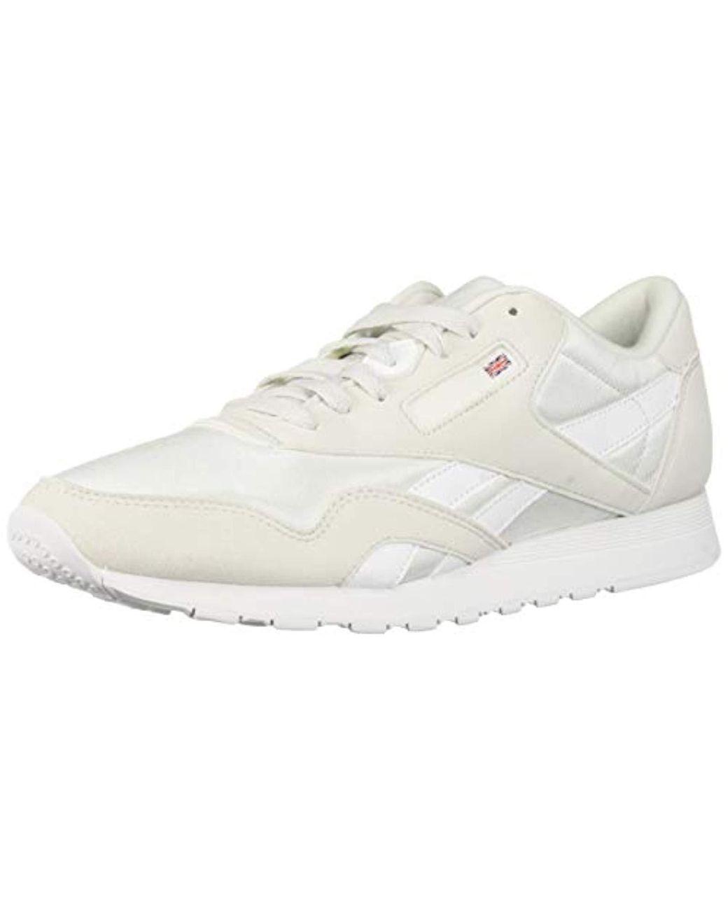 308f736aab Women's Classic Nylon Sneaker True Grey/white 8 M Us