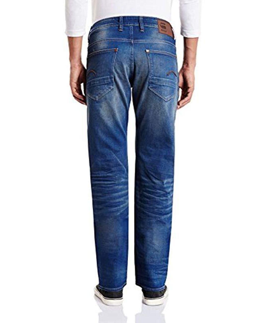 024e47fdad2e42 Lyst - G-Star RAW Revend Straight in Blue for Men - Save 36%