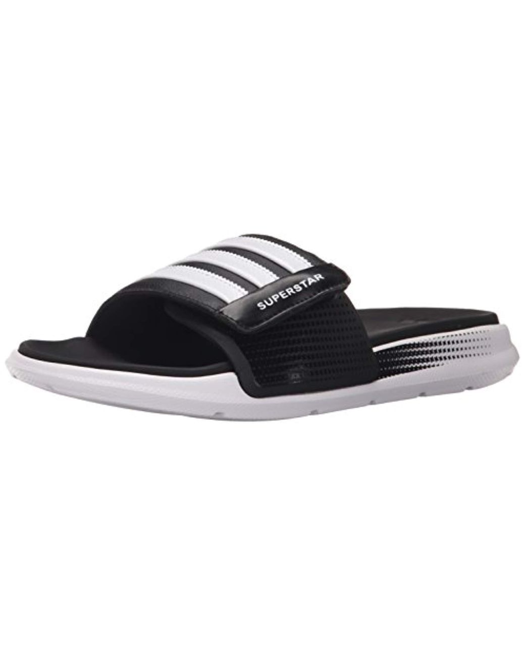 0fcba85d6ba9 Lyst - adidas Performance Superstar 4g M Sandal in Black for Men