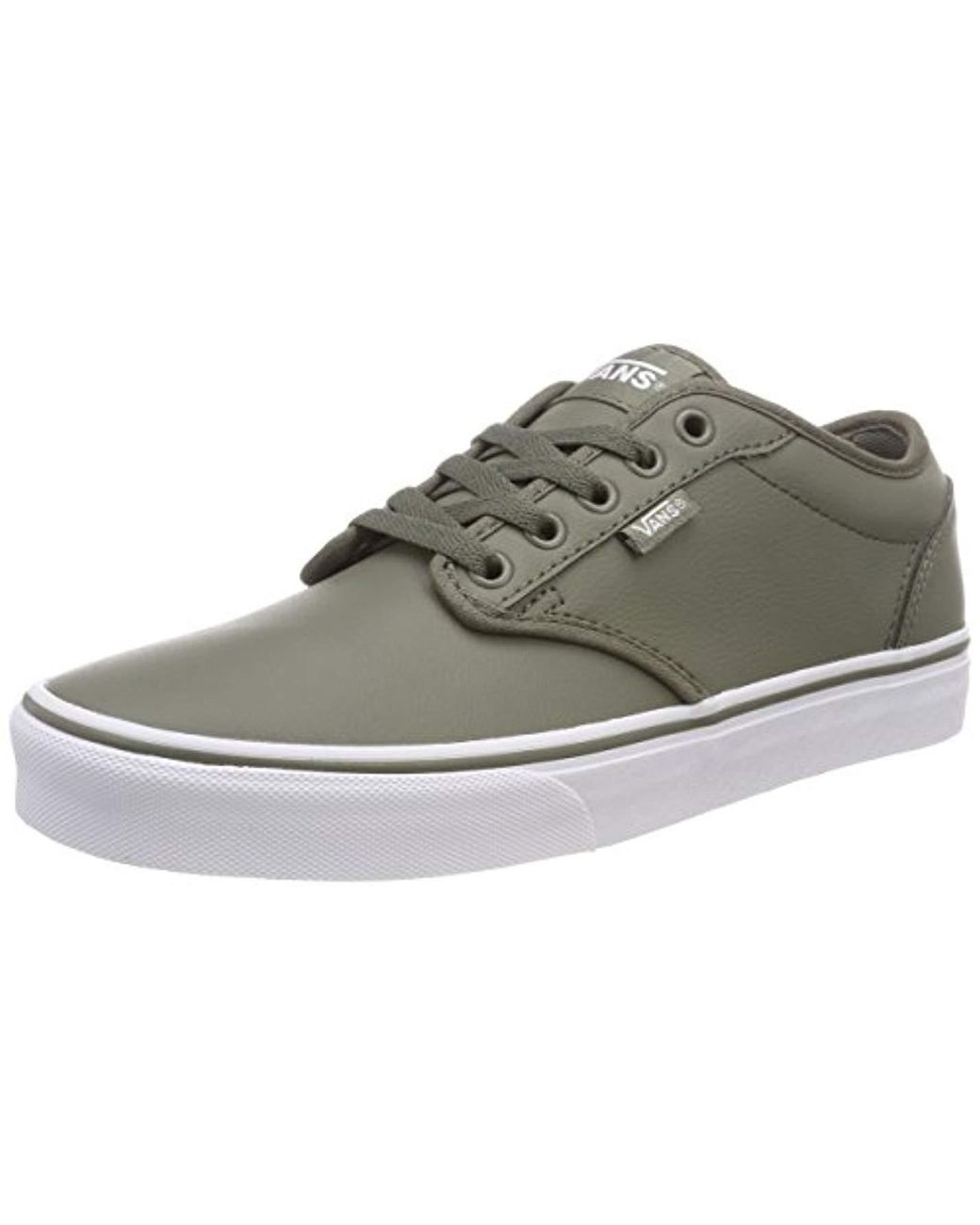 a0993964f2 Vans Atwood Synthetic Leather Low-top Sneakers in Green for Men - Lyst