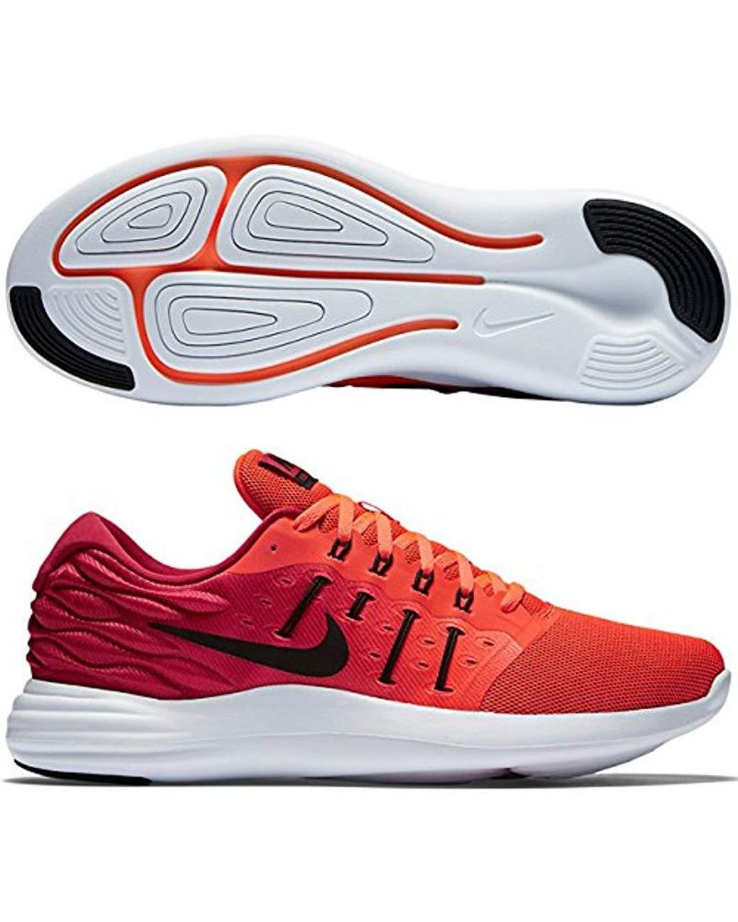 best service 51228 f1ff7 Long-Touch to Zoom. Nike - Red Lunarstelos ...