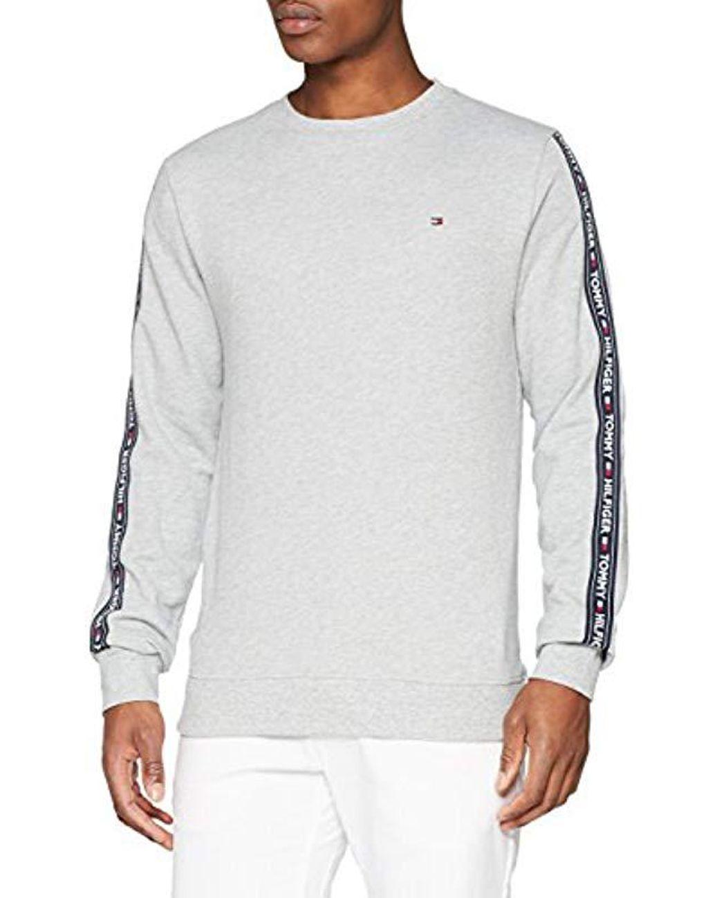 d263e3b15 Tommy Hilfiger Track Ls Hwk Sweater in Gray for Men - Lyst