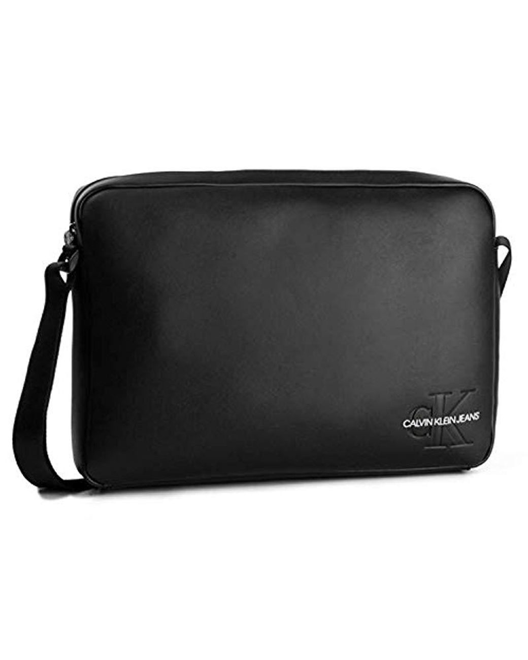 selezione migliore d4c11 ec1cf Calvin Klein K50k504726 Smooth Shoulder in Black for Men - Lyst