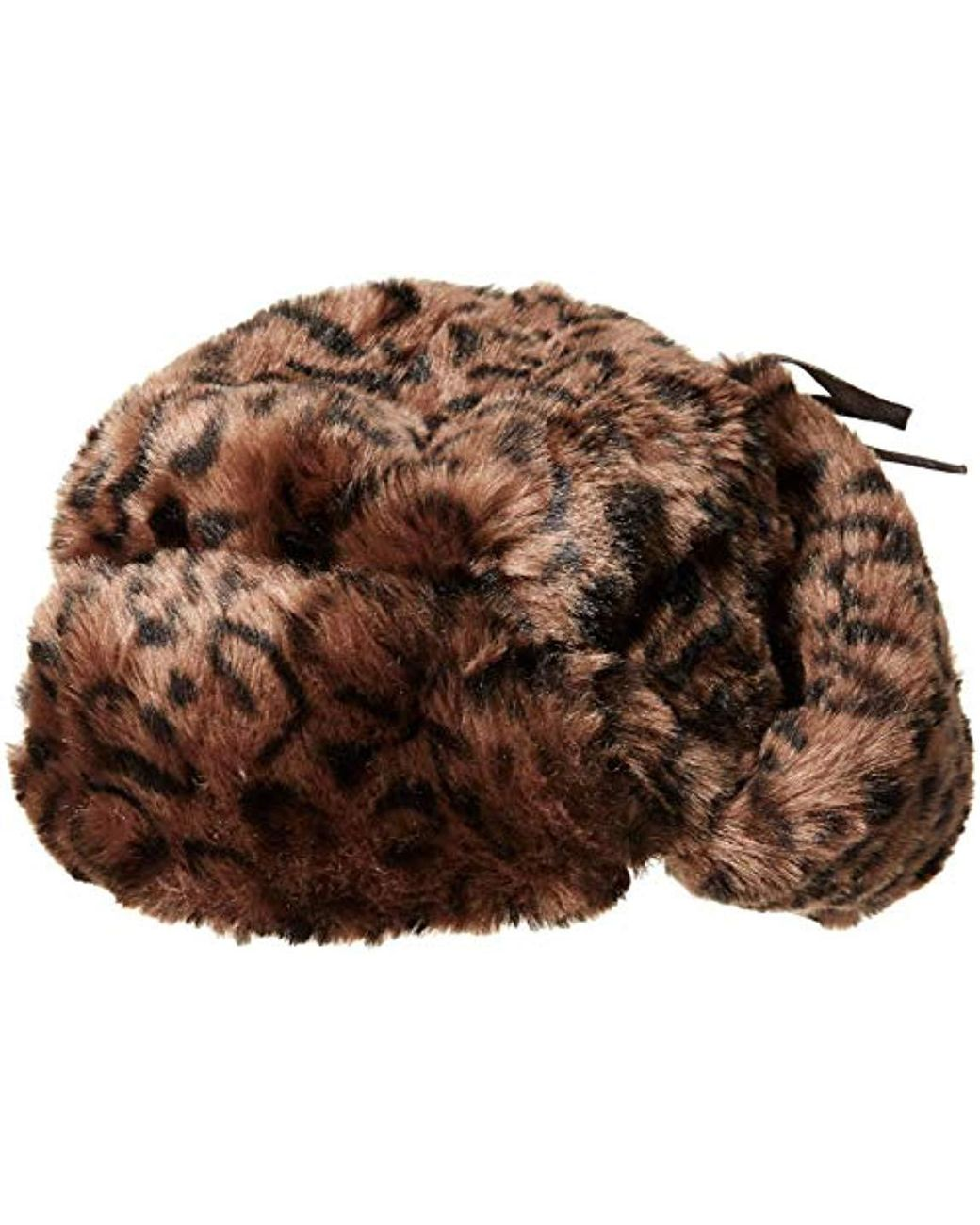 68cd698e58bcd Lyst - Kangol Leopard Trapper Hat in Brown for Men - Save 38%