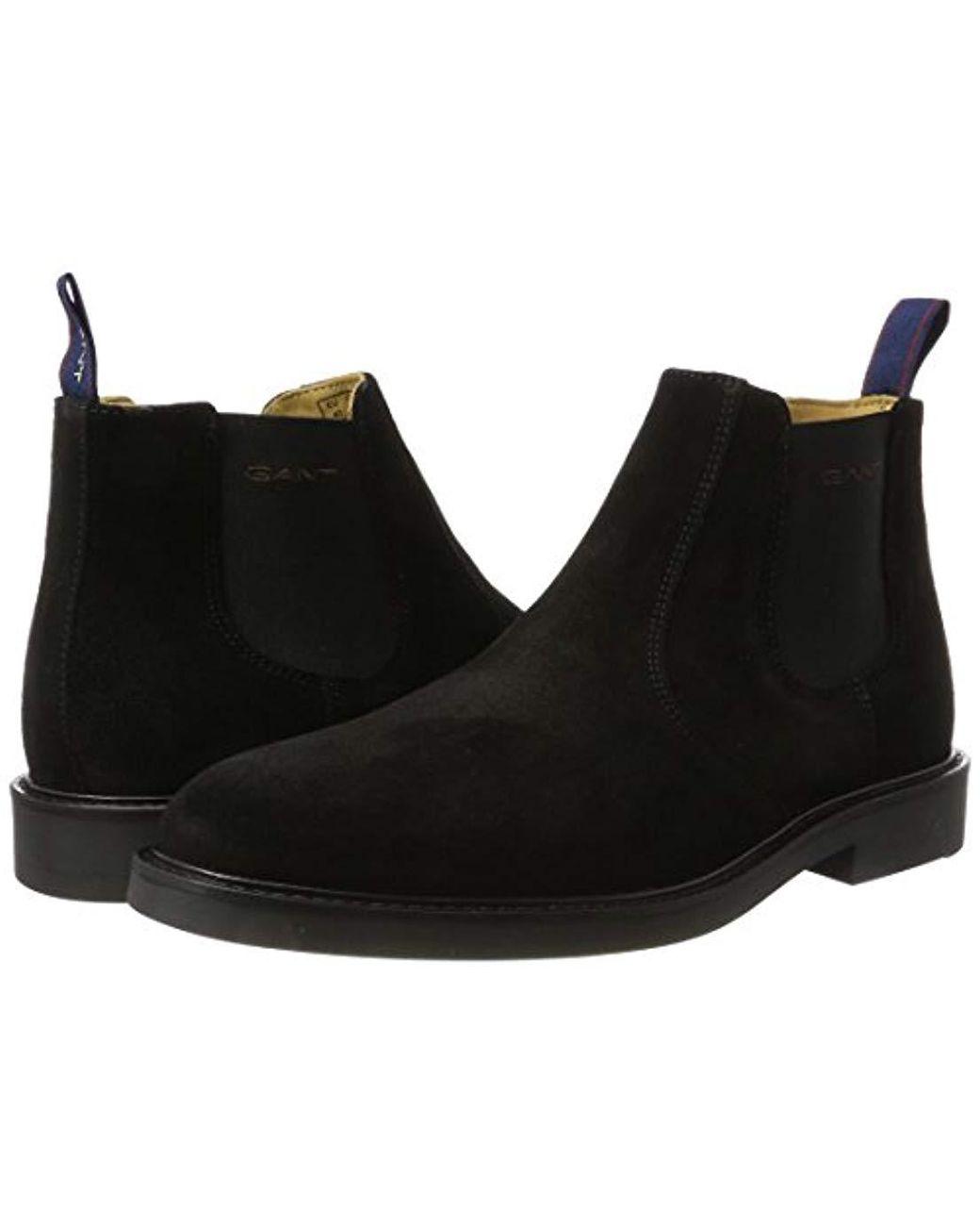 6c798451e7 GANT Spencer Chelsea Boots in Black for Men - Lyst