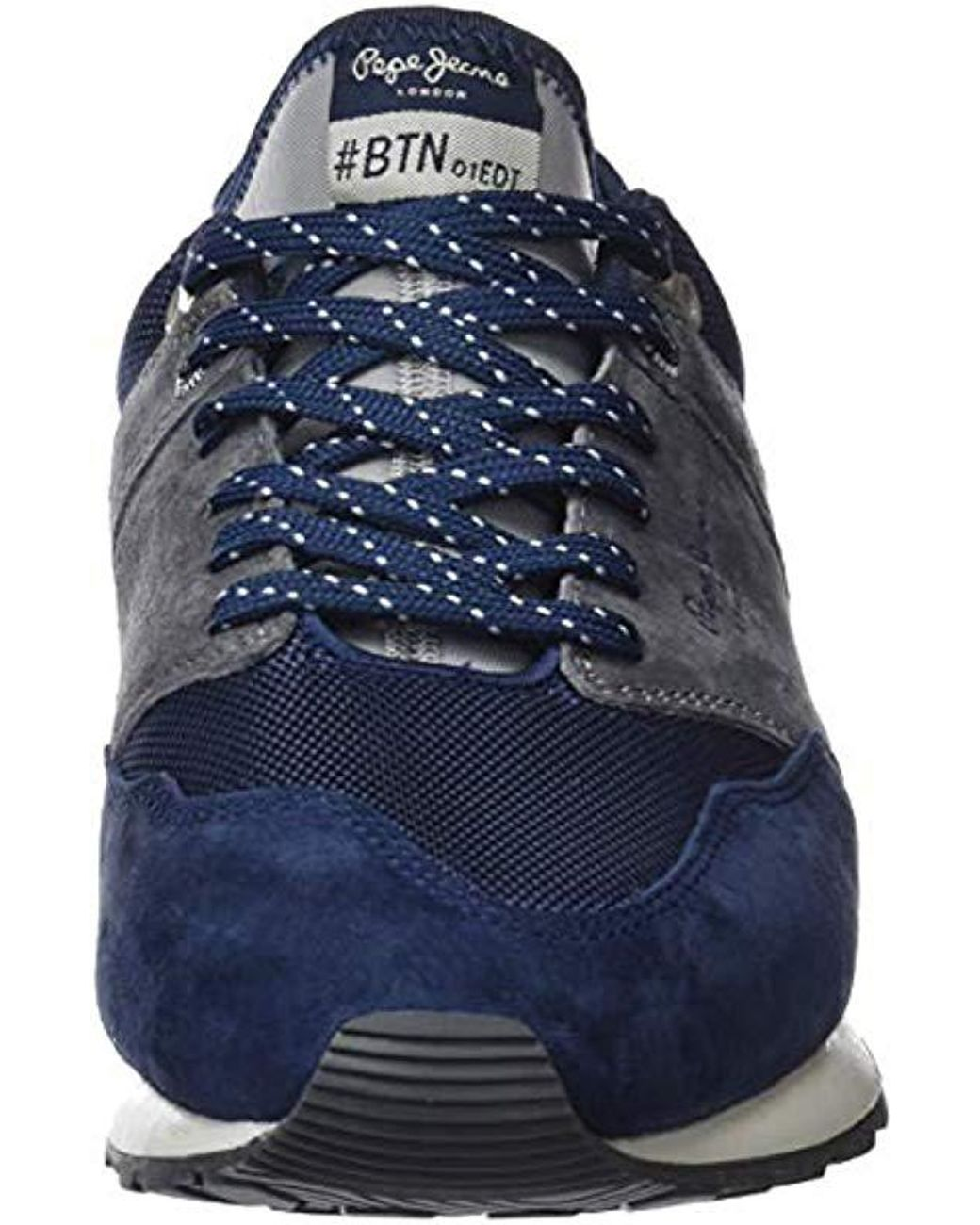 e7e2cb8492f Pepe Jeans Btn Treck Pack Trainers in Blue for Men - Lyst