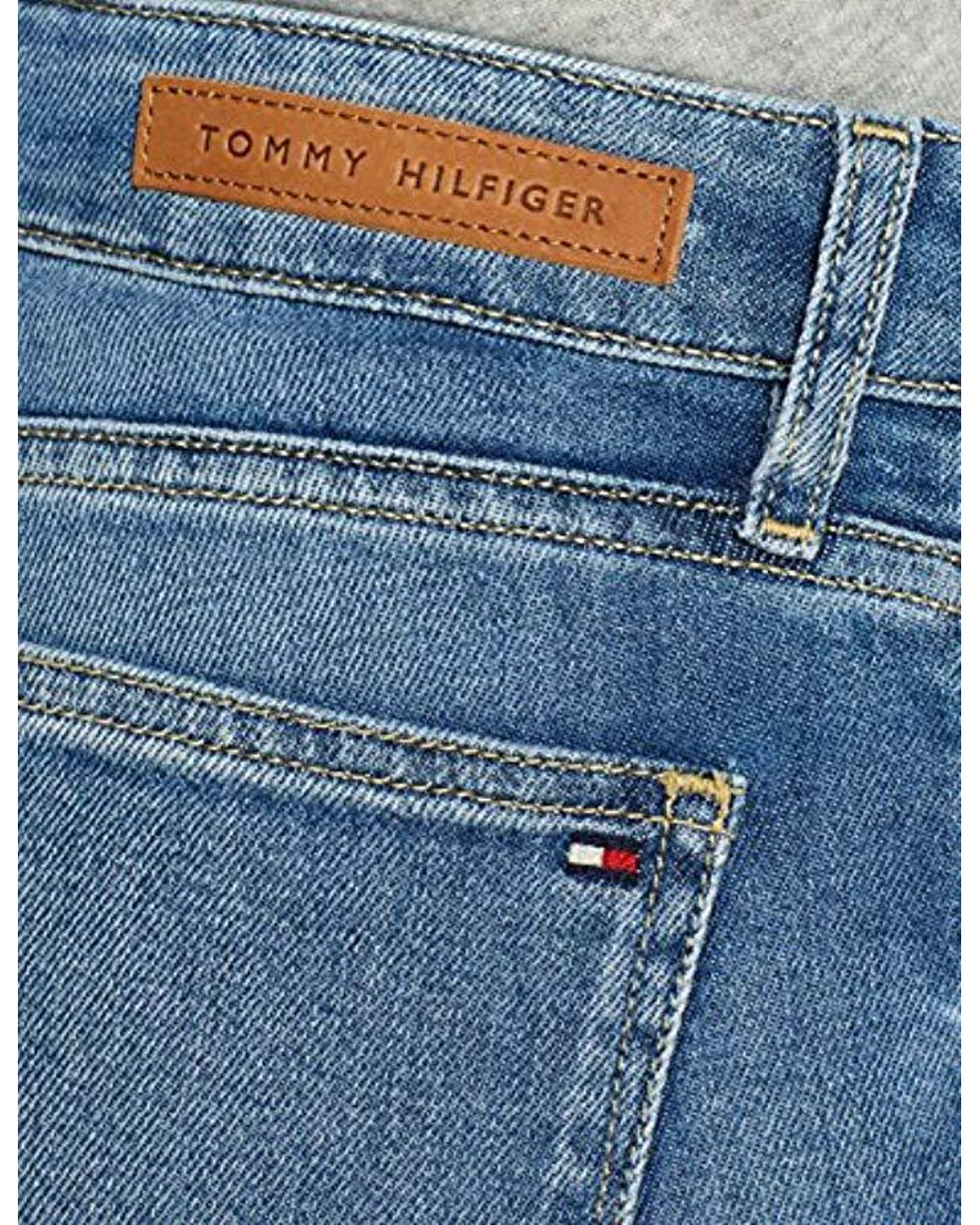 29ddbc45 Tommy Hilfiger Venice Rw Rolled Up Avaline Skinny Jeans in Blue - Lyst