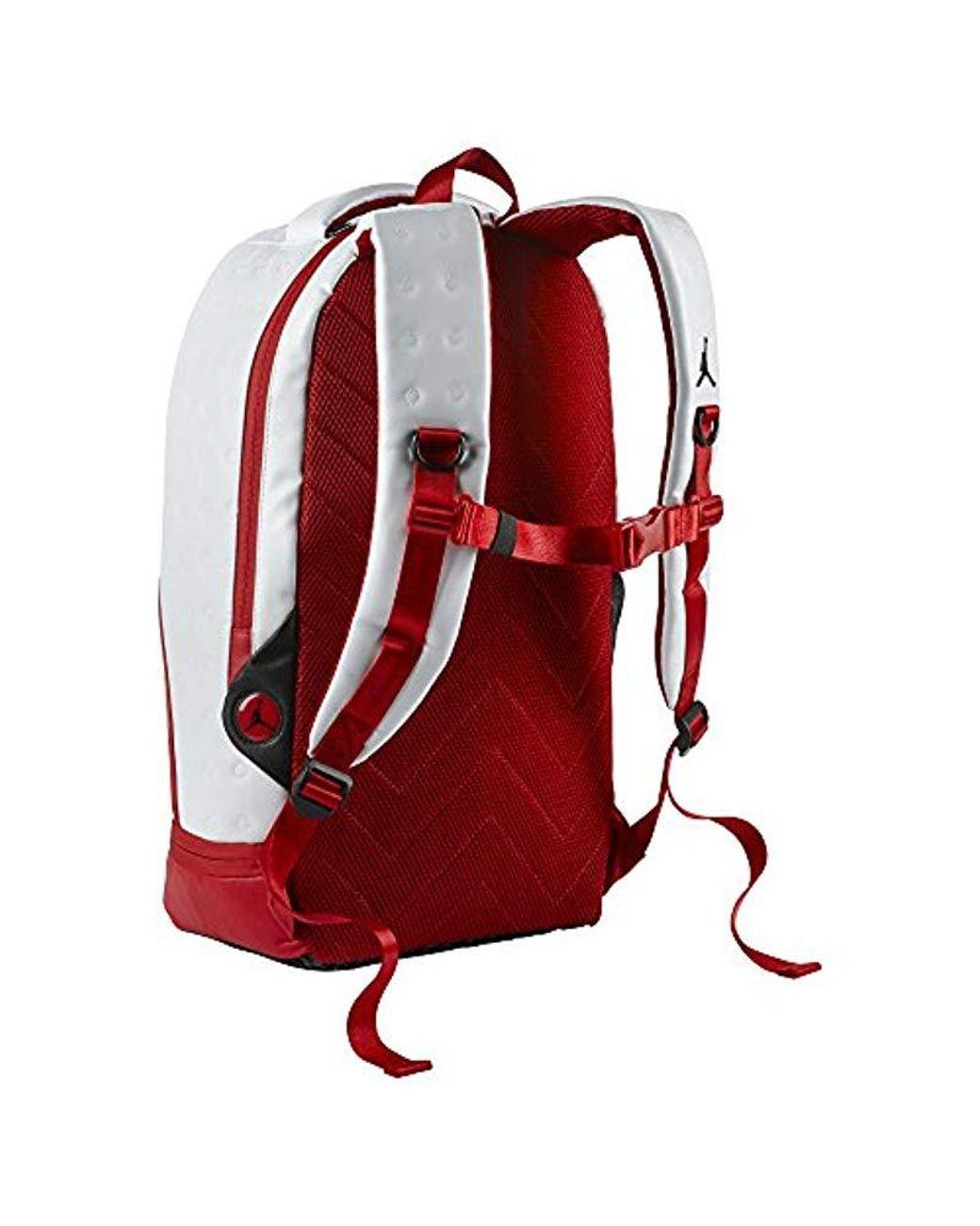 timeless design 66a23 56865 Nike Jordan Retro 13 Backpack in Red - Lyst