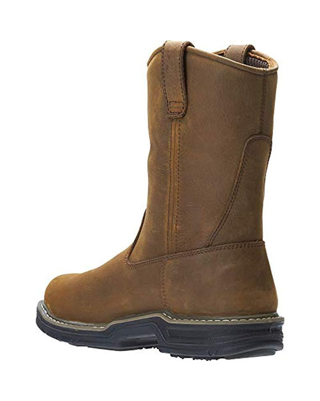ca7be3ef0b6 Wolverine Brown Marauder Rubber Insulated Wellington Work Boot for men