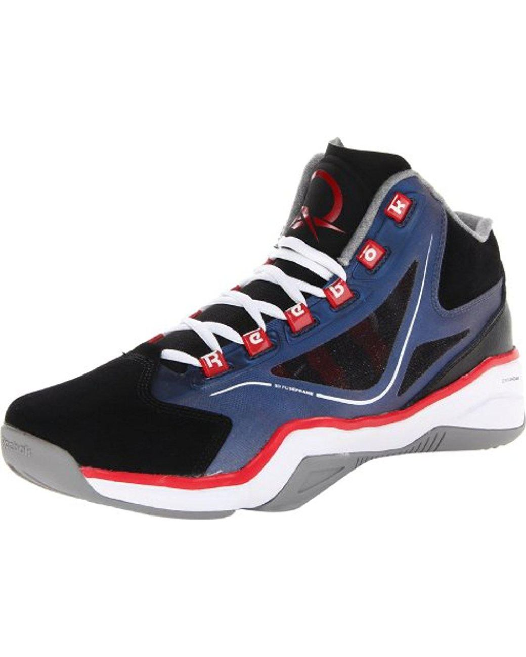 7804e009ed Lyst - Reebok Q96 Crossexamine Basketball Shoe for Men