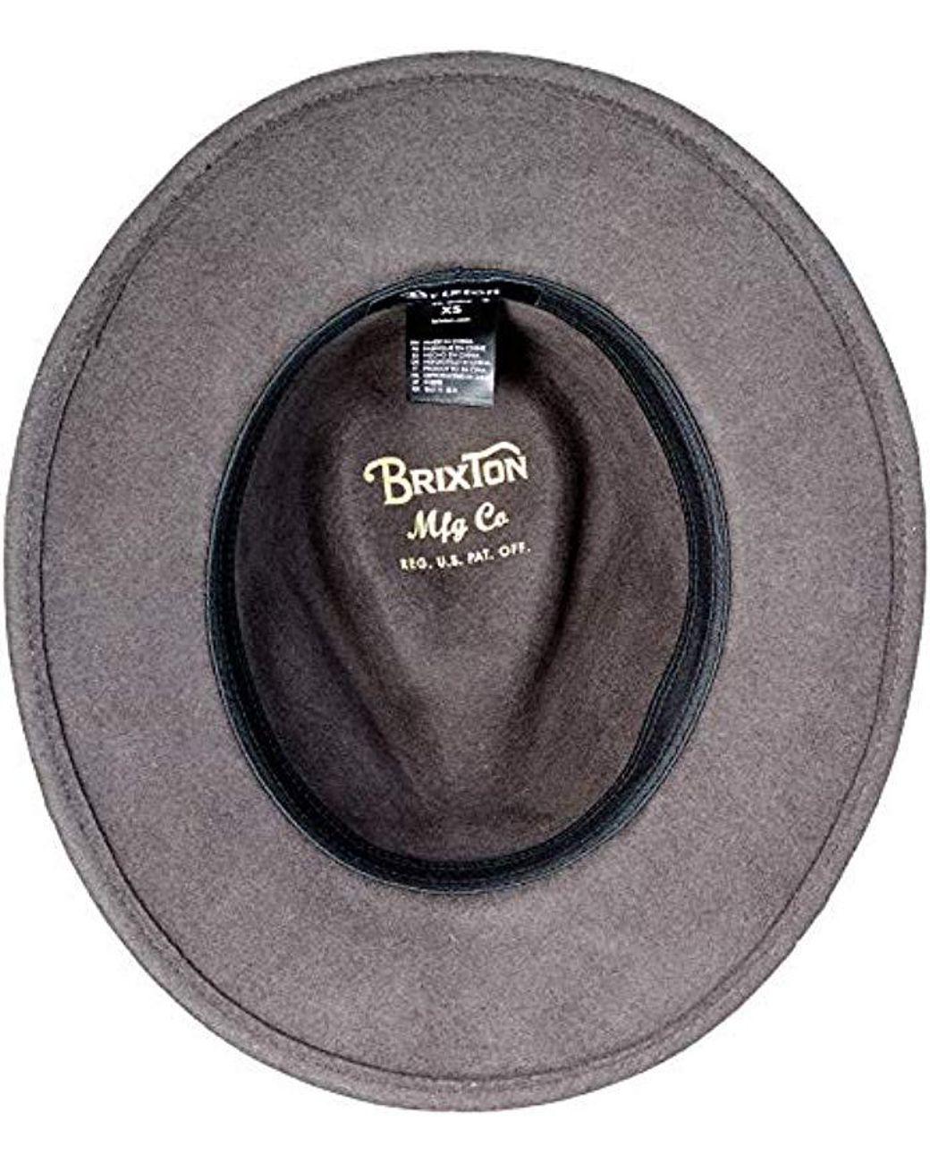Stetson Cappello Pork Pie Odenton da Donna//Uomo Porkpie in Cotone Fedora Impermeabile e con Protezione dal Sole Estate//Inverno
