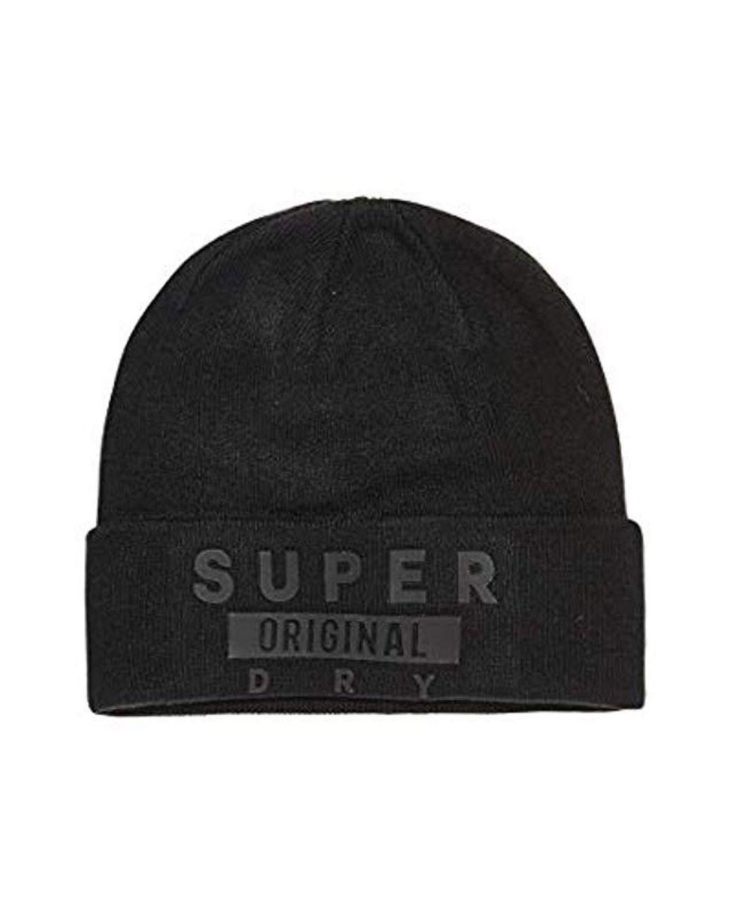 arriva Nuovi Prodotti abbastanza economico Superdry M90000pr Cappello Accessories in Black for Men ...