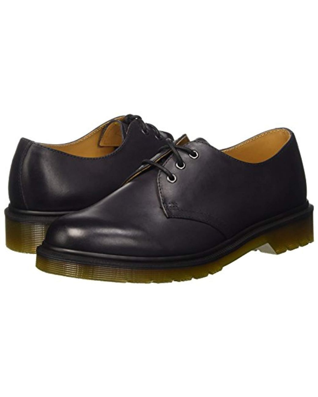 59a00368645 Dr. Martens Unisex Adults  1461 Charcoal Antique Temperley Derbys in Black  for Men - Lyst