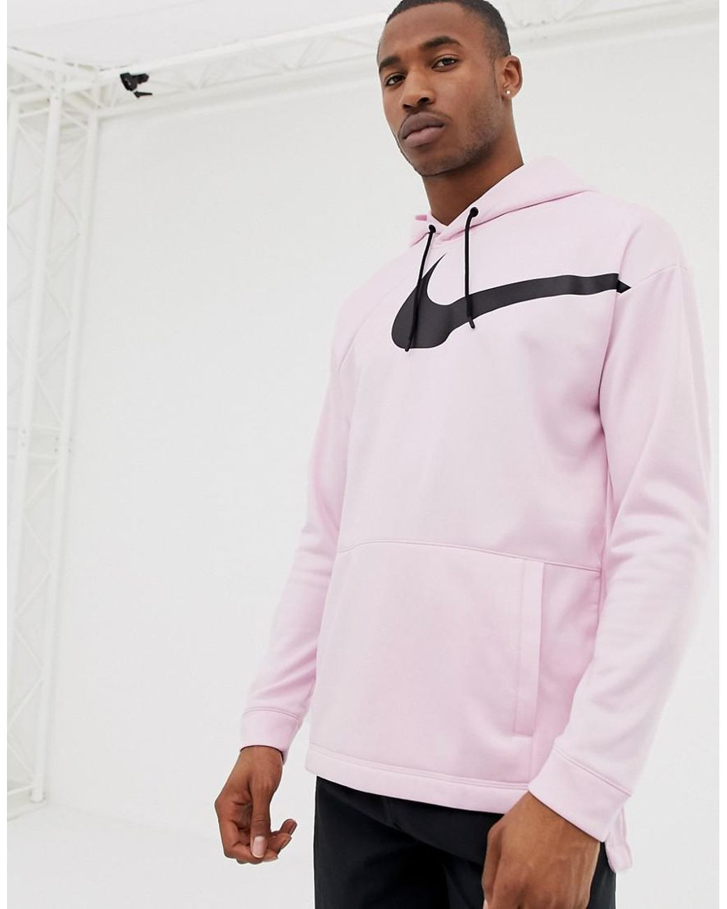 722bef779f7a59 Nike Project X Therma Hoodie In Pink Aj9263-663 in Pink for Men - Lyst
