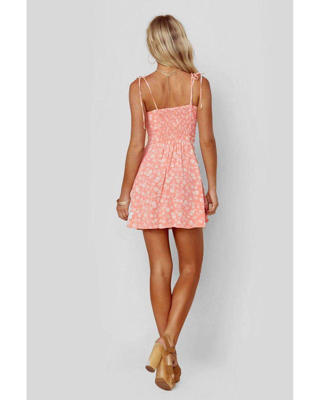 11764749711 Blue Life Sienna Corset Dress - Blushing Gardens in Pink - Lyst