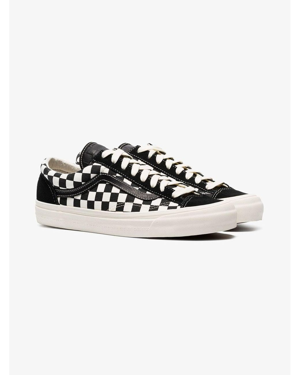 5f75e86bf2 Lyst - Vans Vault X Modernica Style 36 Lx Low-top Sneakers in Black ...