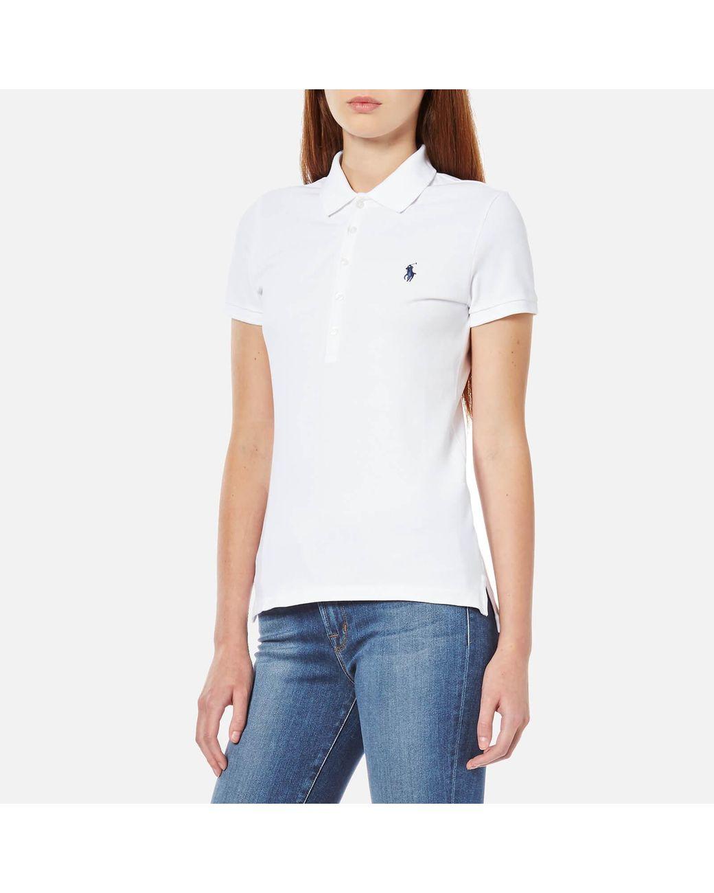 Julie In White Lyst Lkjcf1 Polo Lauren Shirt Ralph kZuiwPOXTl