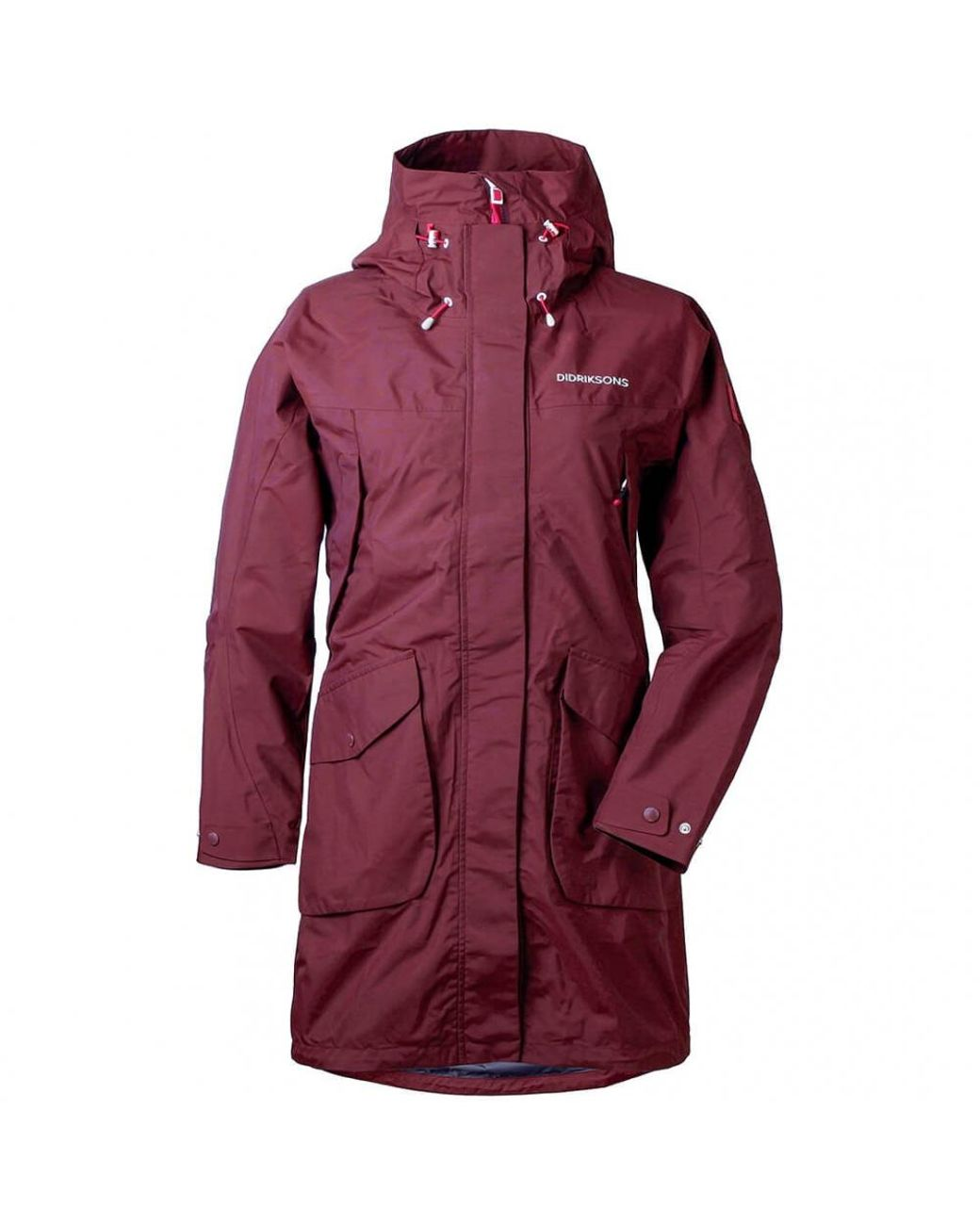 21d43103bd8 Didriksons Thelma Womens Parka in Red - Lyst
