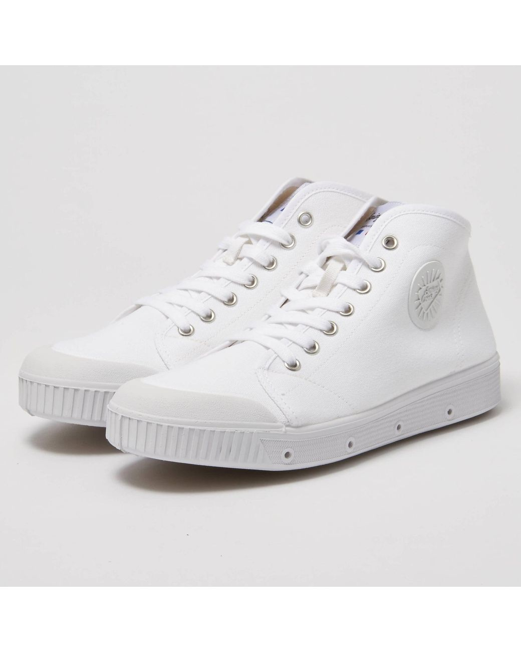 9aa81e583f Lyst - Spring Court Classic B2 Canvas White Shoe B2N-1001 in White ...