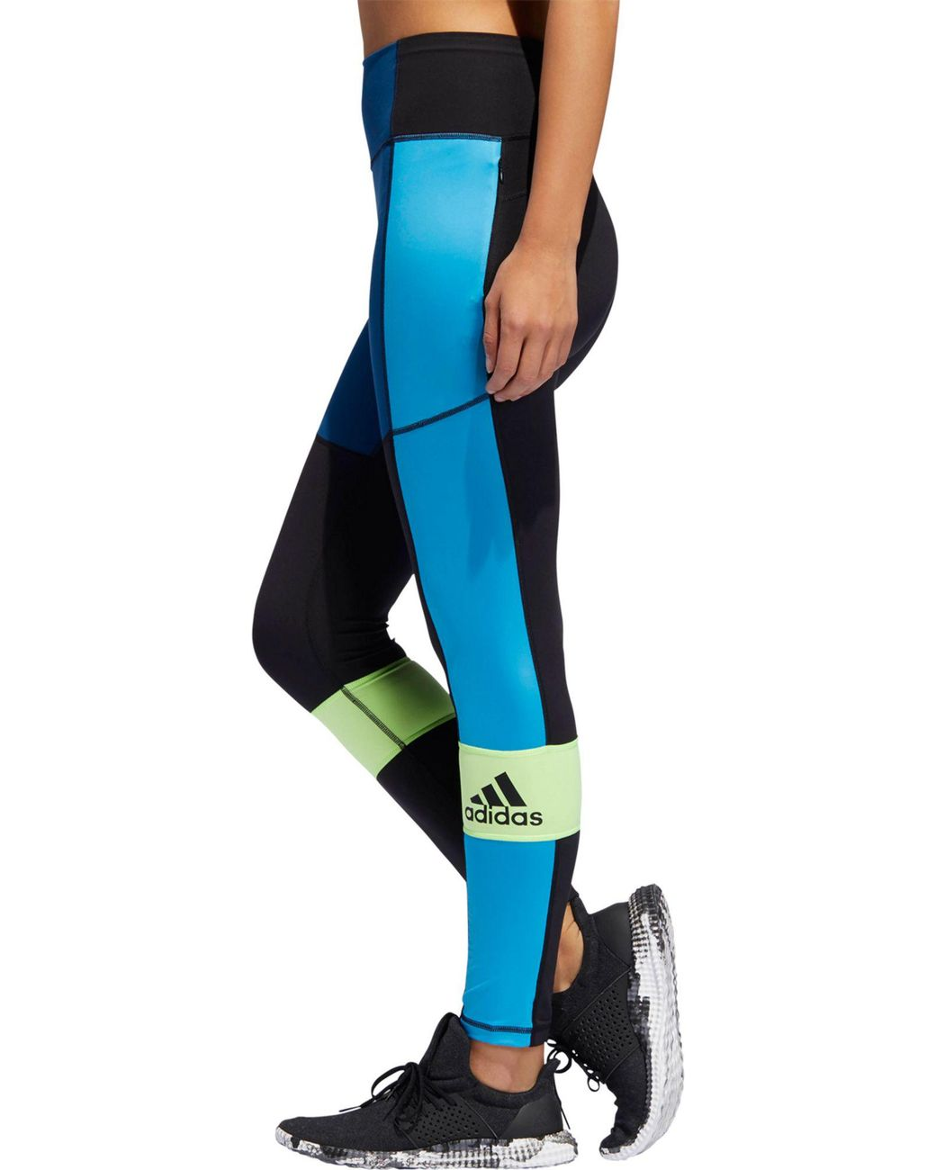 ADIDAS PERFORMANCE BELIEVE This 78 Tight Damen Leggings Blau Sport Leggings