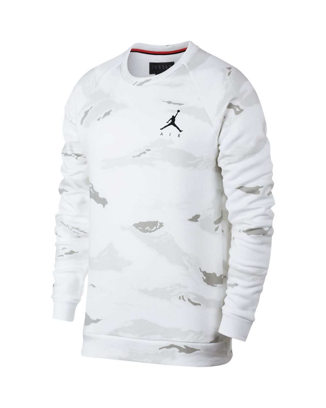 1258f0d21f5113 Lyst - Nike Jumpman Camo Fleece Pullover in White for Men