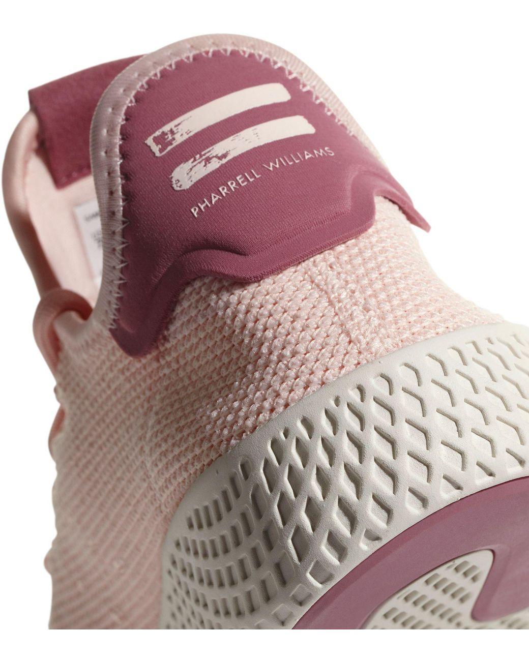 13097726f Lyst - adidas Originals Pharrell Williams Tennis Hu Shoes in Pink
