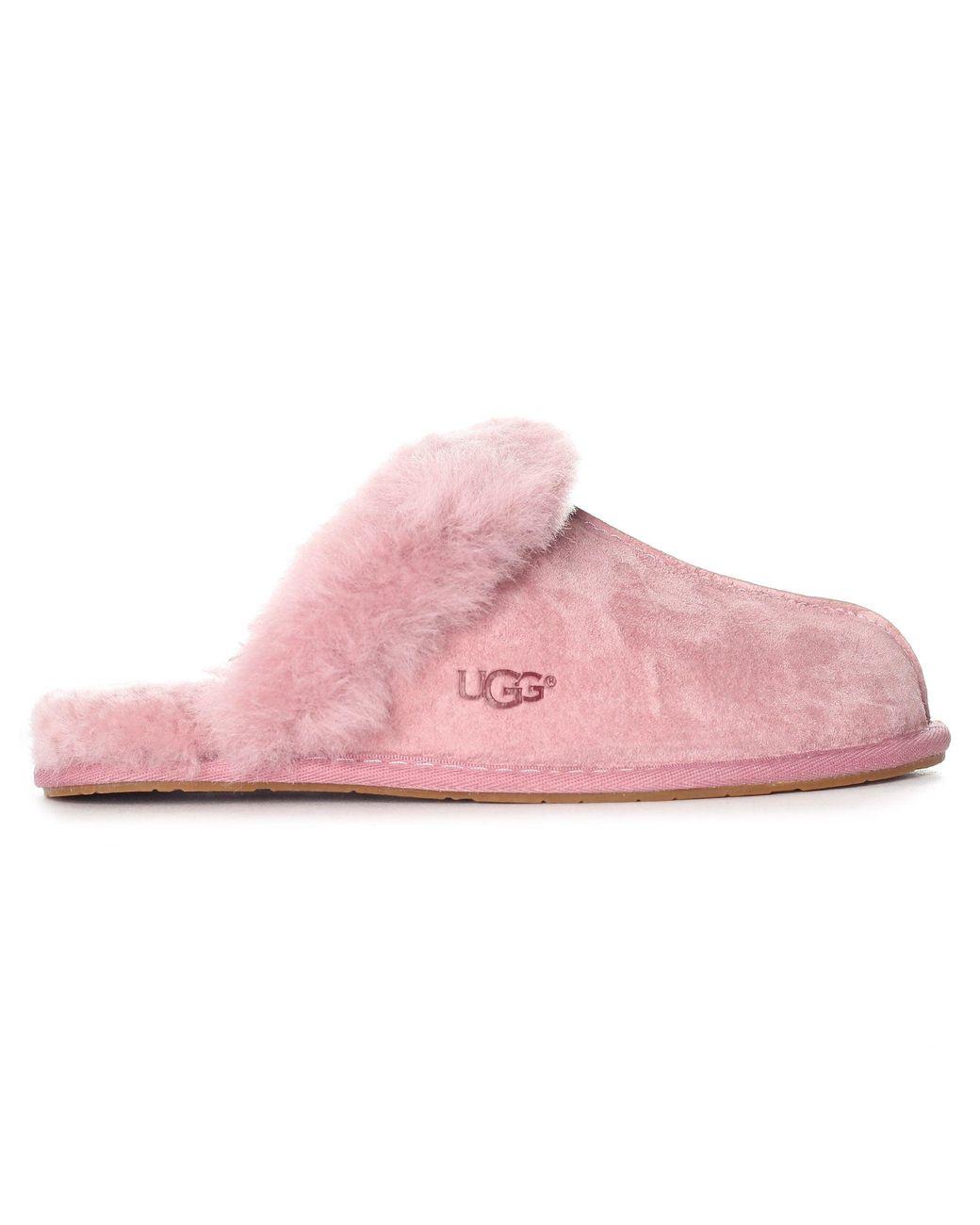 dd843b895 UGG Scuffette Ll Slippers in Pink - Lyst
