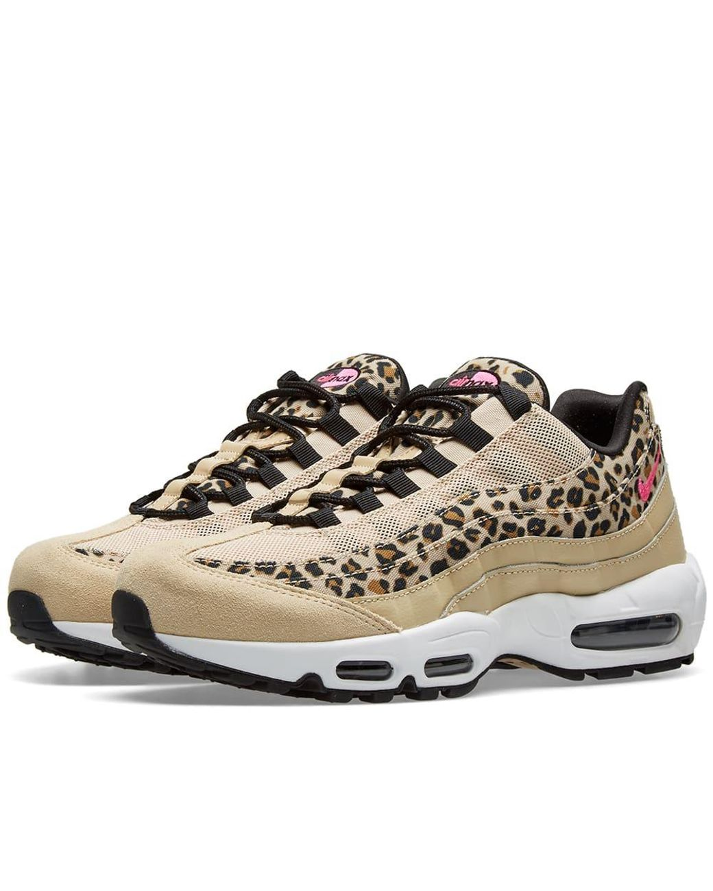 pretty nice ebc29 e88a9 Women's Brown Air Max 95 Premium Animal Shoe