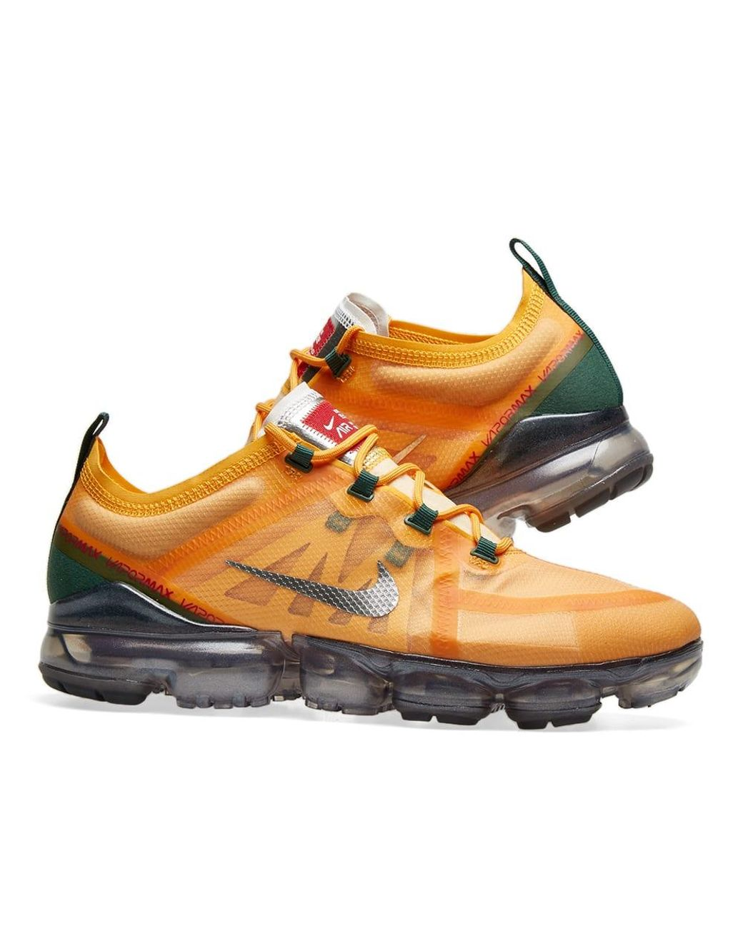 Nike Orange Air Vapormax 2019 for men