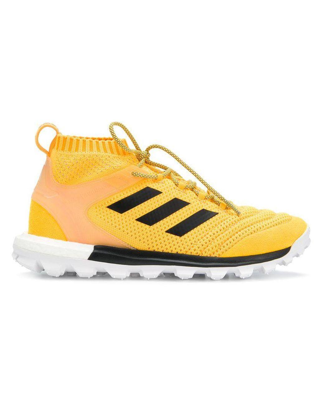 155a03ce7d3 Gosha Rubchinskiy X Adidas Copa Primeknit Sneakers in Yellow - Save 8% -  Lyst