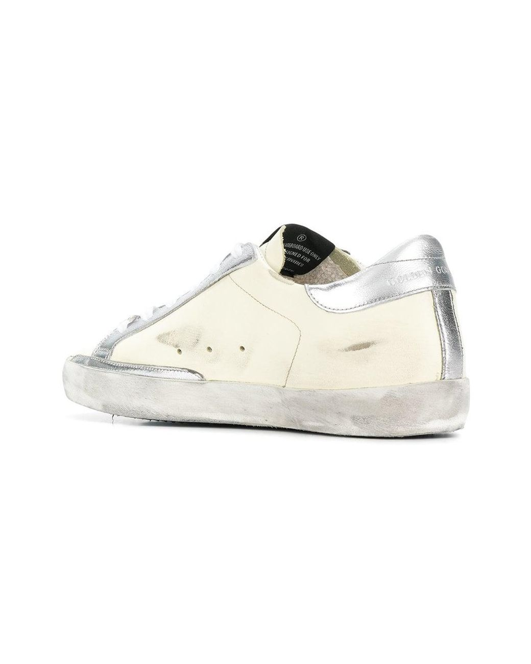 35279285a7bcc Golden Goose Deluxe Brand Women s Yellow Side Star Lace Up Trainers ...