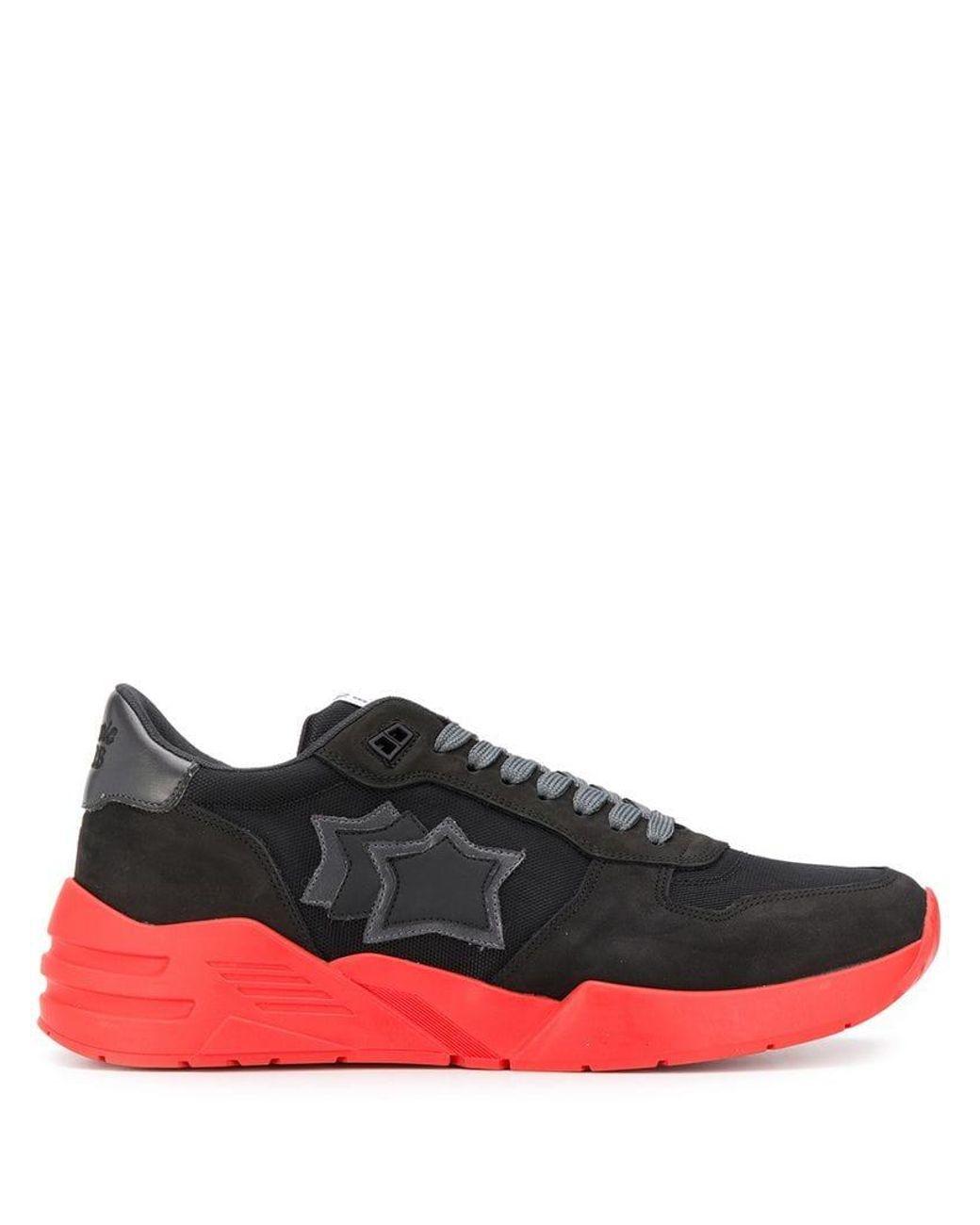 539bf5e03088c4 Lyst - Atlantic Stars Mars Sneakers in Black for Men