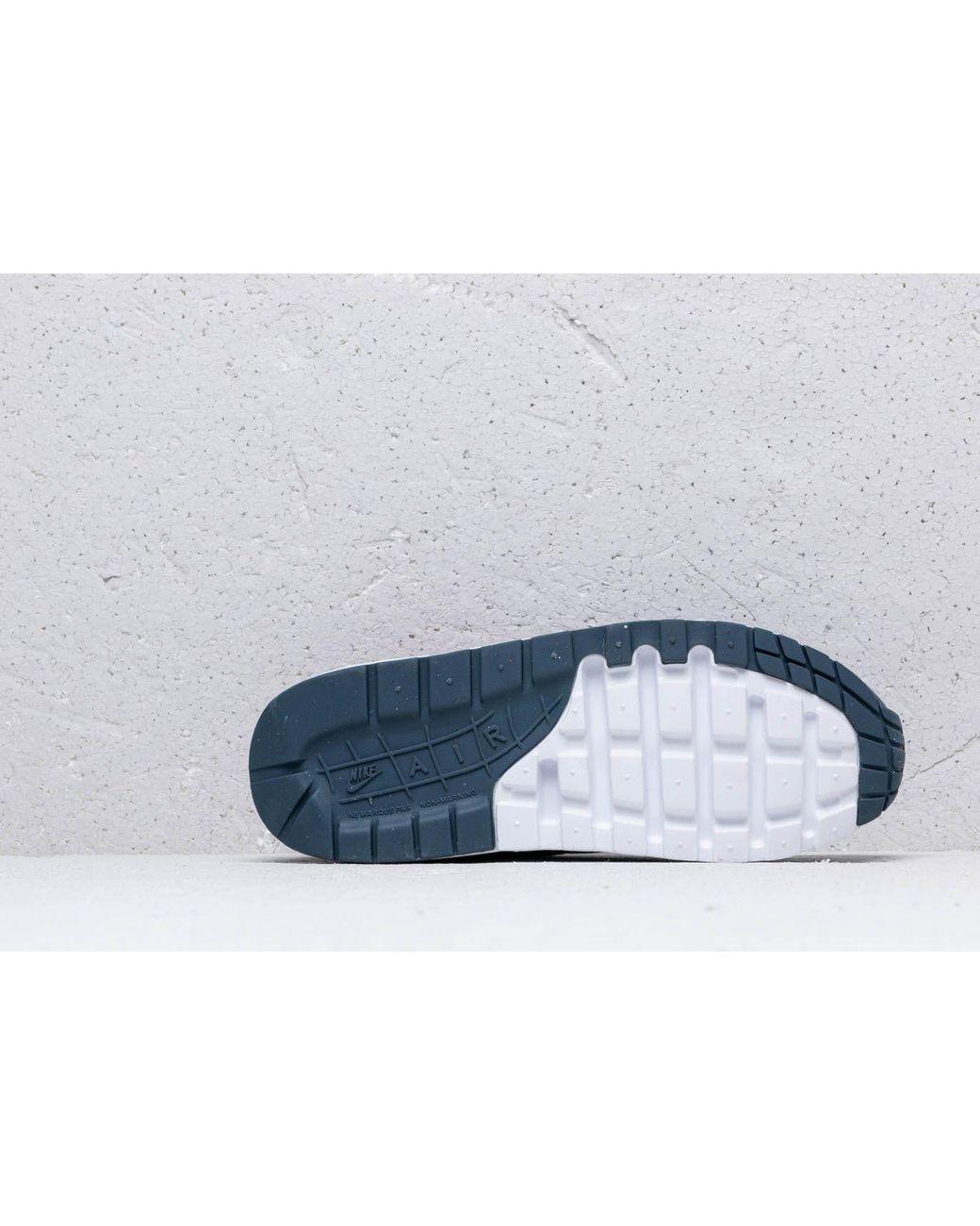 new products c4b7c 39bdf Nike Air Max 1 (gs) Obsidian Mist  Monsoon Blue-laser Fuchsia in Blue - Lyst
