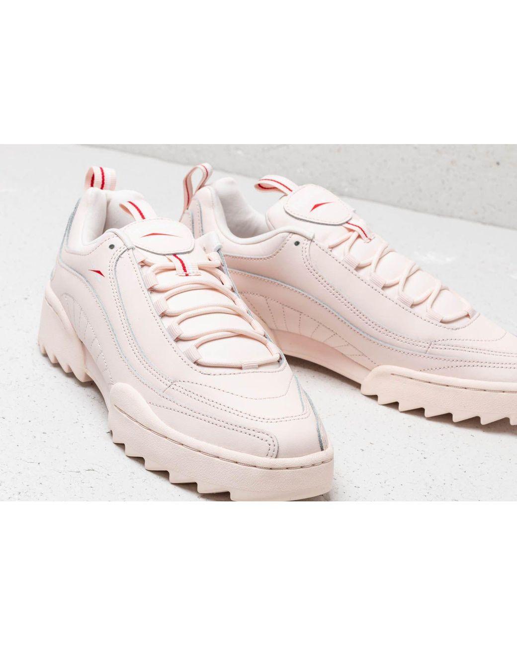 f53748c679f Lyst - Reebok Reebok Rivyx Ripple Pale Pink  White  Red in Pink