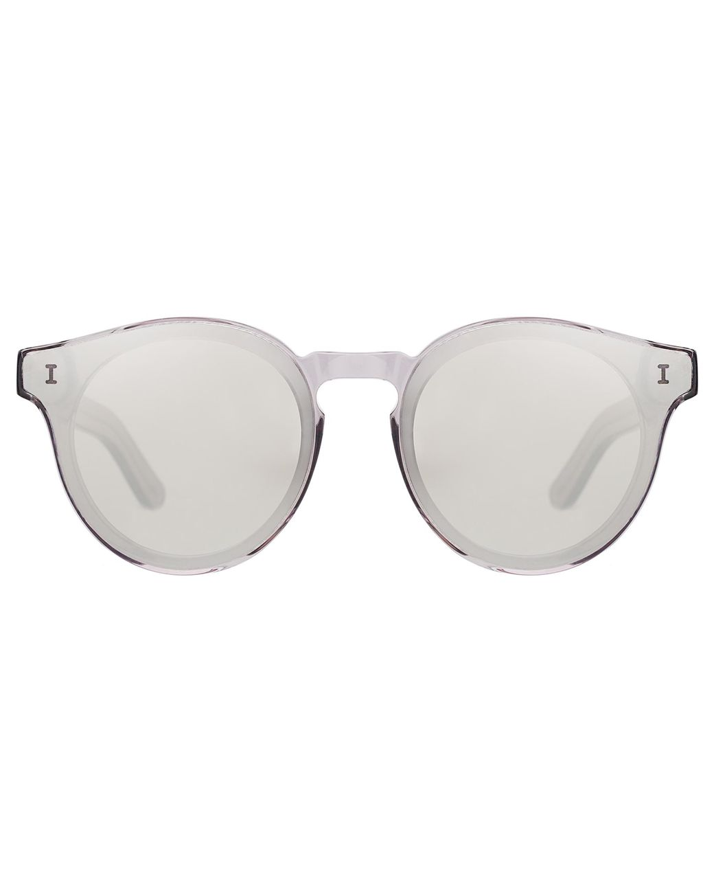 910ebb6eaaf5 Illesteva Two Point One Sunglasses in Metallic - Lyst