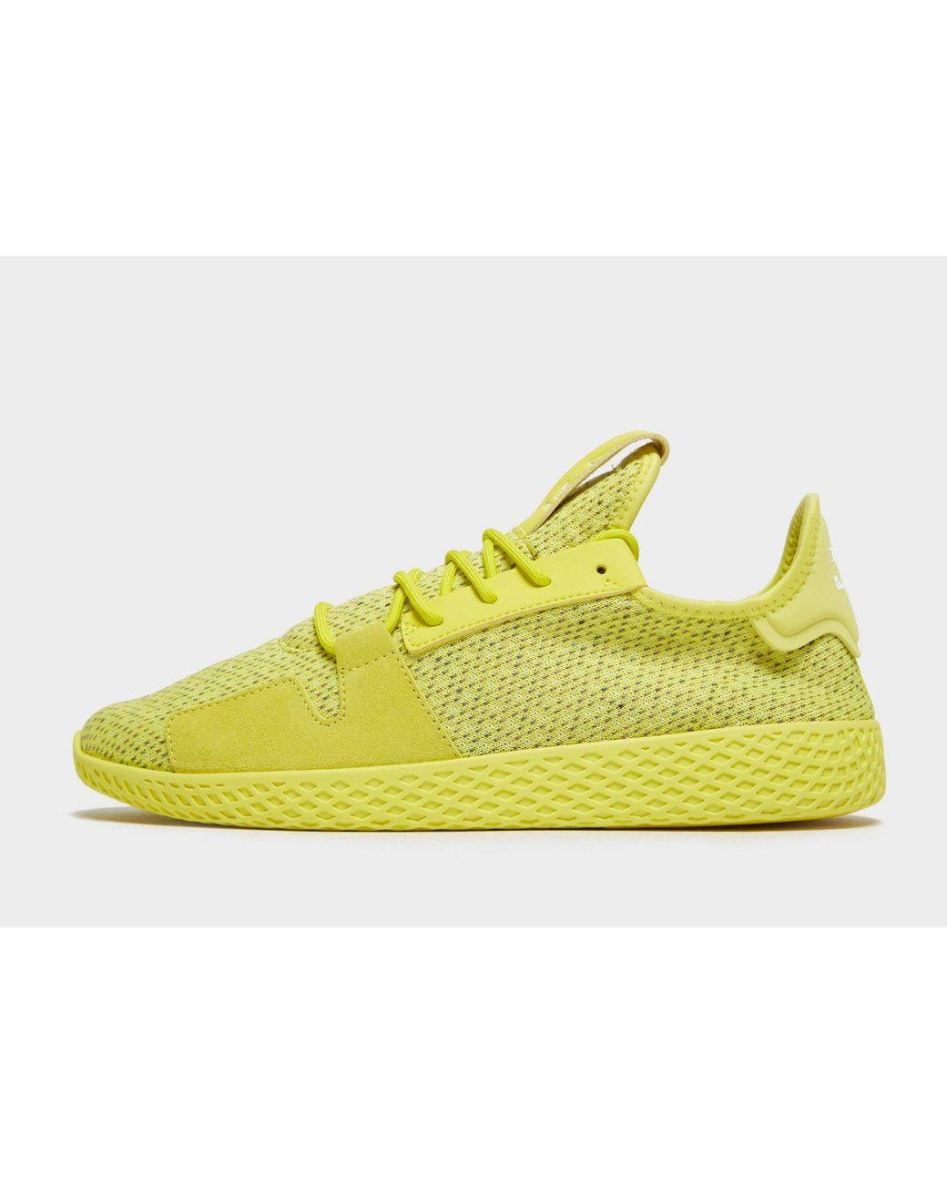 d54d3b196 Lyst - adidas Originals X Pharrell Williams Tennis Hu V2 in Yellow ...
