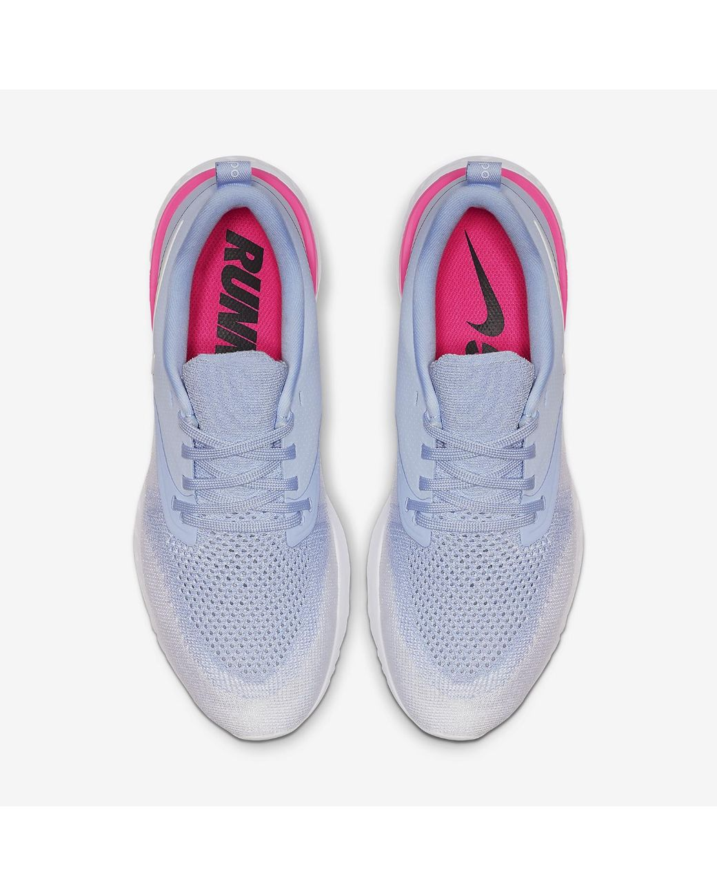 7f1f1d5e70e7 Lyst - Nike Odyssey React Flyknit 2 Running Sneakers From Finish Line in  Blue - Save 39%