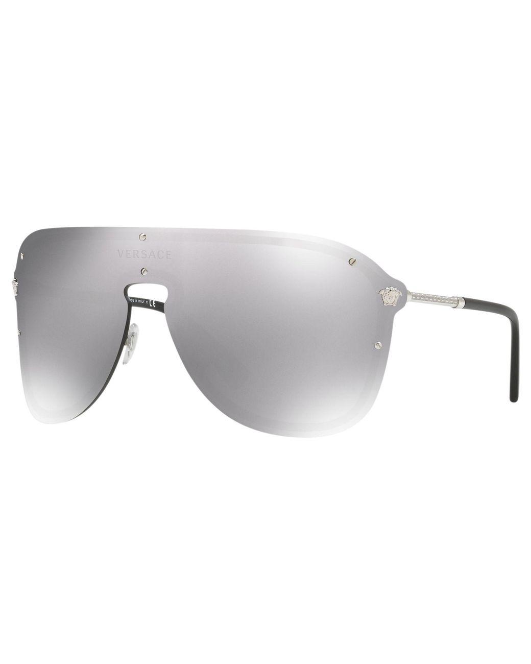 de28daf4026c0 Versace. Ve2180 Women s Aviator Sunglasses. £211 From John Lewis and  Partners