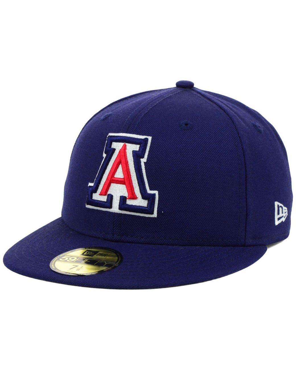 big sale 51a2a 8e8d0 KTZ Arizona Wildcats Ac 59fifty Cap in Blue for Men - Lyst