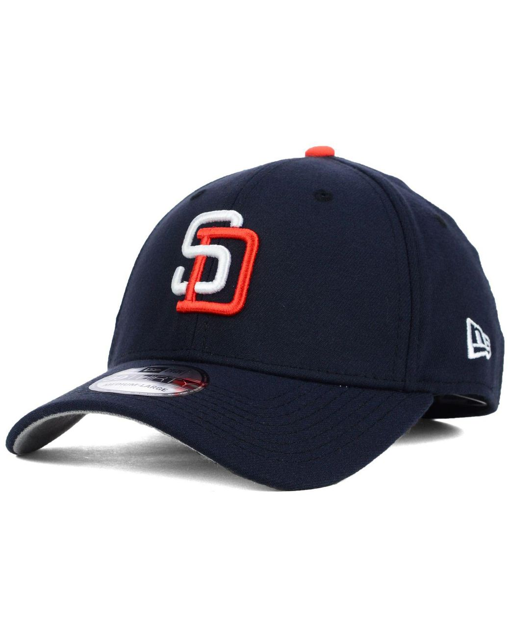 finest selection 5531f 46a64 KTZ San Diego Padres Core Classic 39thirty Cap in Blue for Men - Lyst