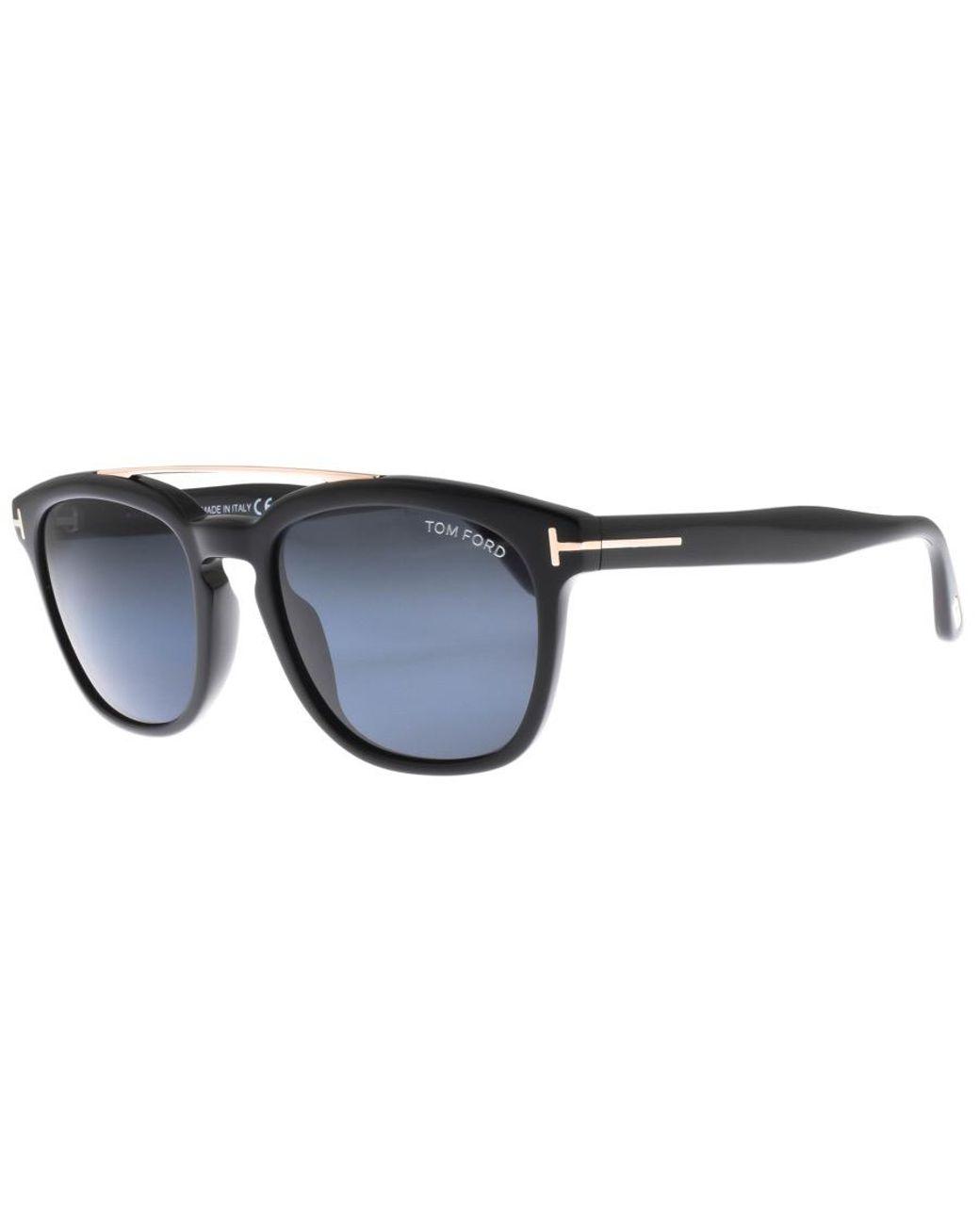5cfaa18681ef Lyst - Tom Ford Holt Sunglasses Black in Black for Men