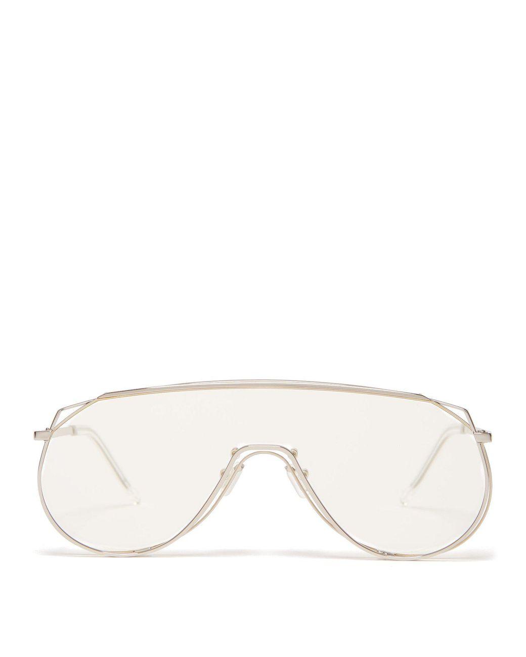 da9563949358 Lyst - Gentle Monster Afix 02 Glasses in Metallic for Men