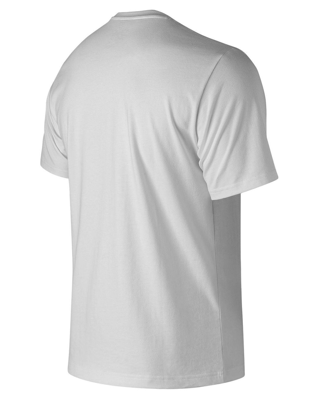 0fa3f9d8 New Balance Essentials Nb Legacy Tee in White for Men - Save 55% - Lyst